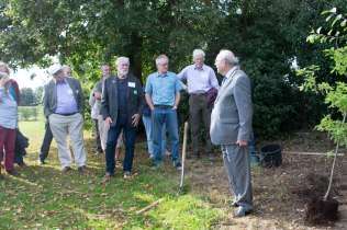 The Chairman of SNC Cllr Gary Wheatley opened the Forum & planted the commemorative tree.