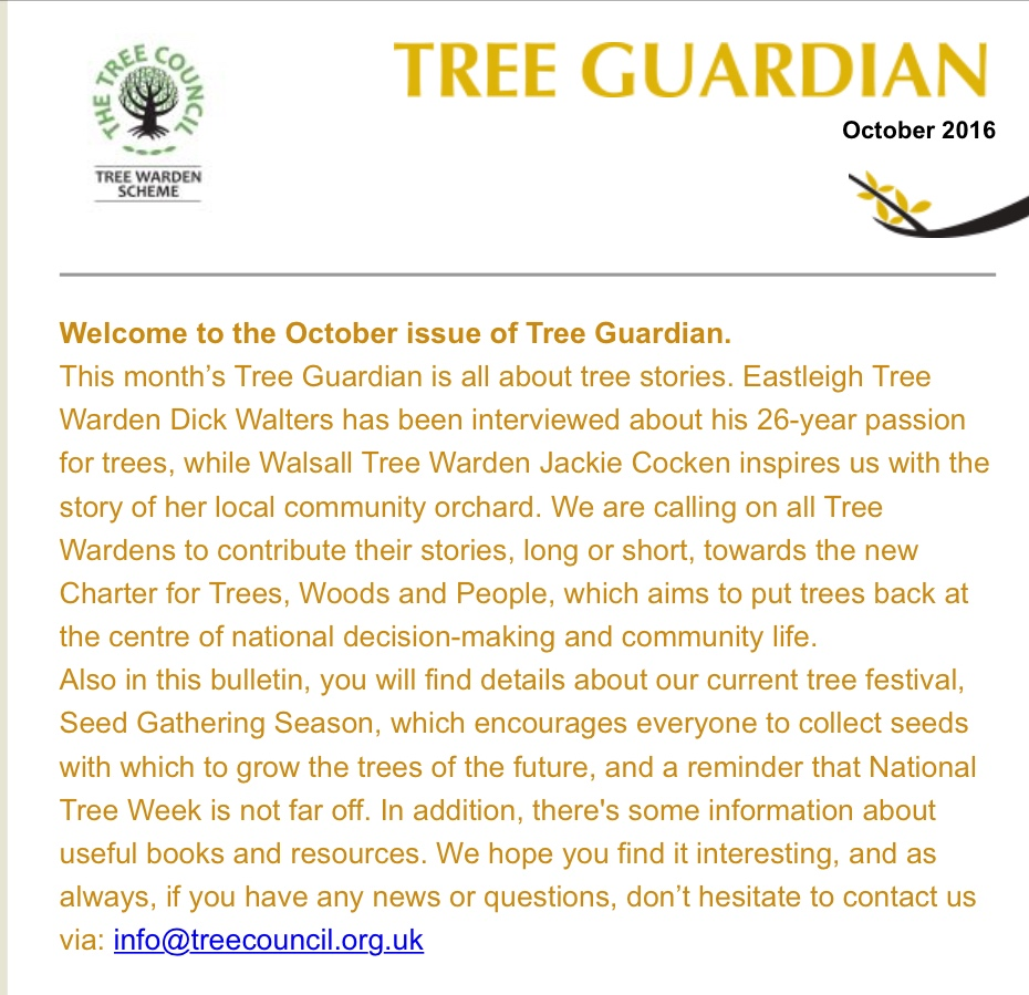 Tree Guardian October 2016